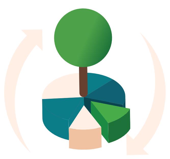 Icone stratégie RSE performance entreprise