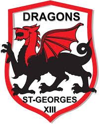 logotype du club dragons st georges soutenu par Sud Recyclage