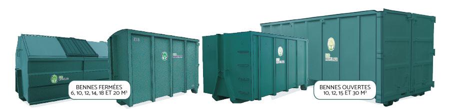 Location Bennes Containers Tri dechets entreprise Herault Occitanie Montpellier