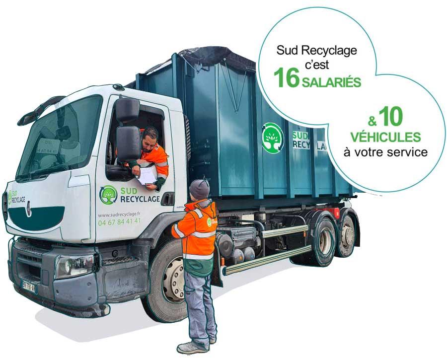 Salarie vehicule recyclage Occitanie